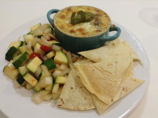 Salsa verde chicken + courgettes (1)