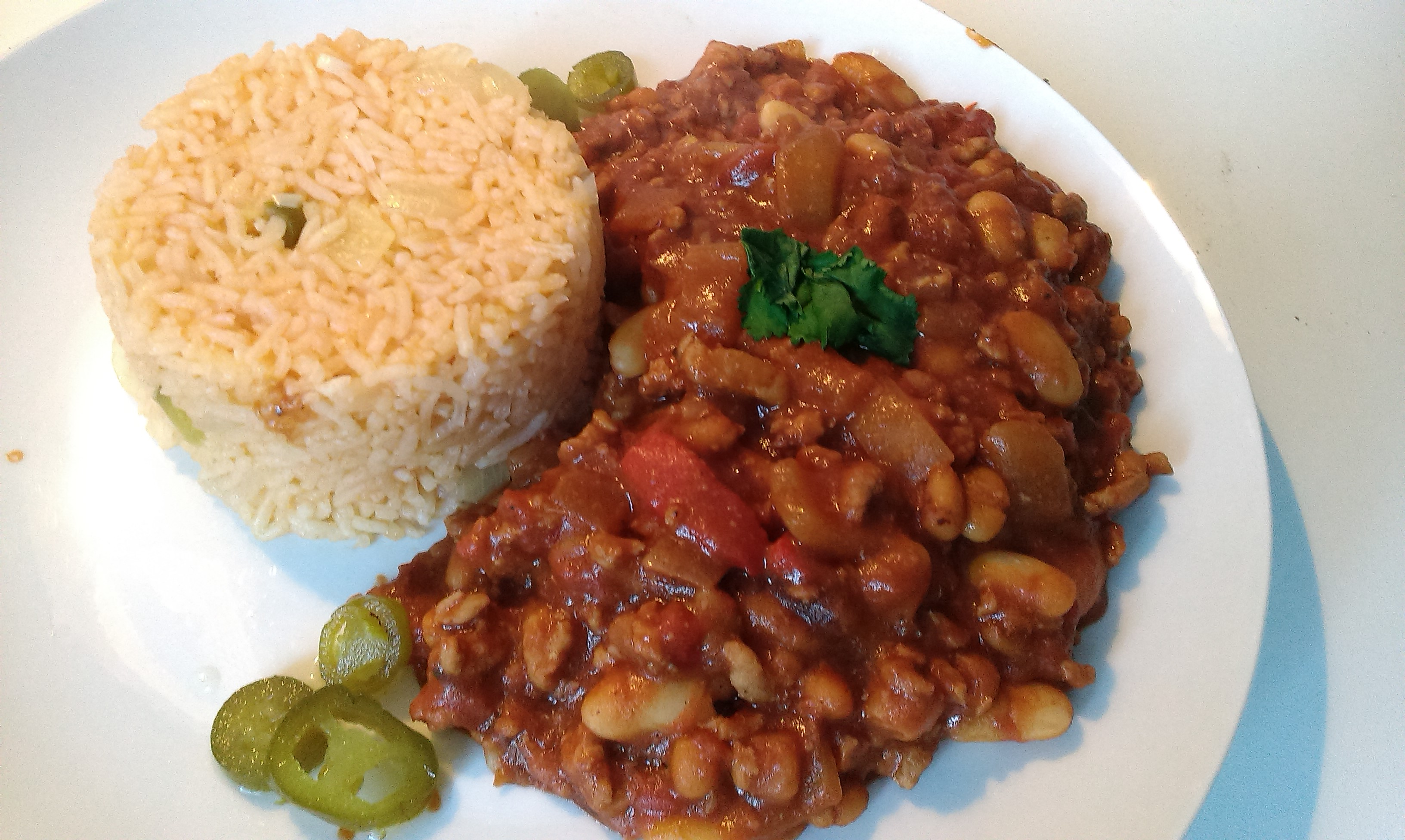 Smoky chocolate chilli con carne about the taste for Adding chocolate to chilli con carne