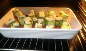 Courgette rolls (2)