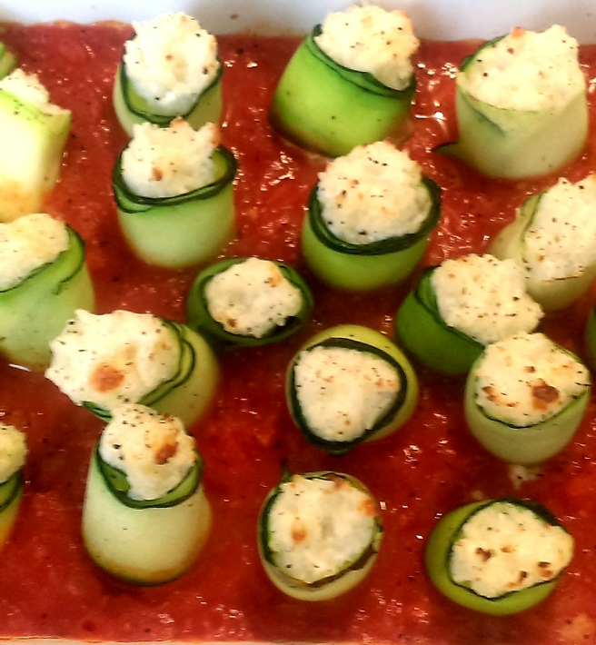 Courgette rolls (3)