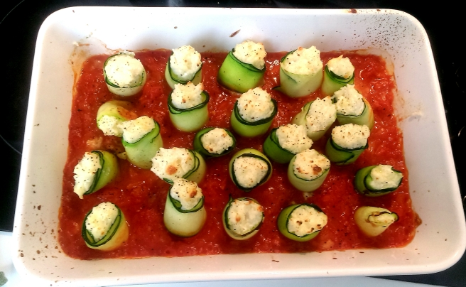 Courgette rolls (5)