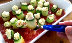 Courgette rolls (6)