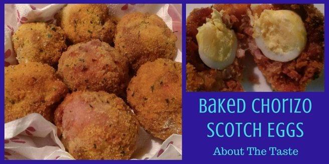 Baked Chorizo Scotch Eggs (4)