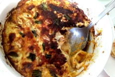 Sage, squash, bacon and walnut cannelloni (10)