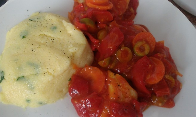 Spanish chicken and polenta (3)