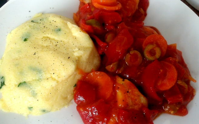 Spanish chicken and polenta (4)