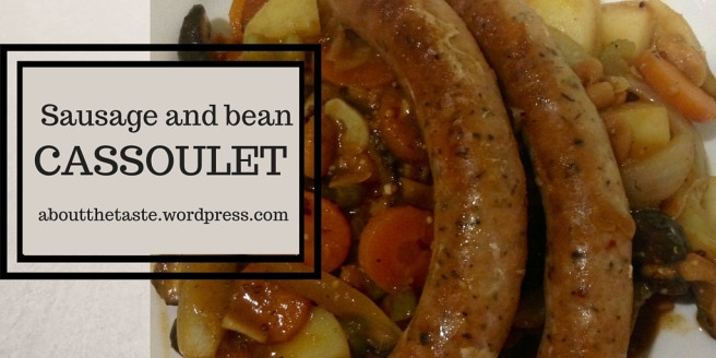 Sausage and bean cassoulet (1)