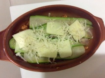 Chicken courgette lasagne (6)