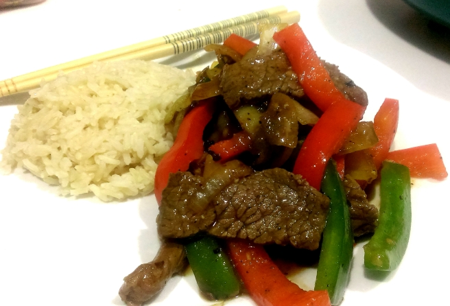 Black pepper beef (4)