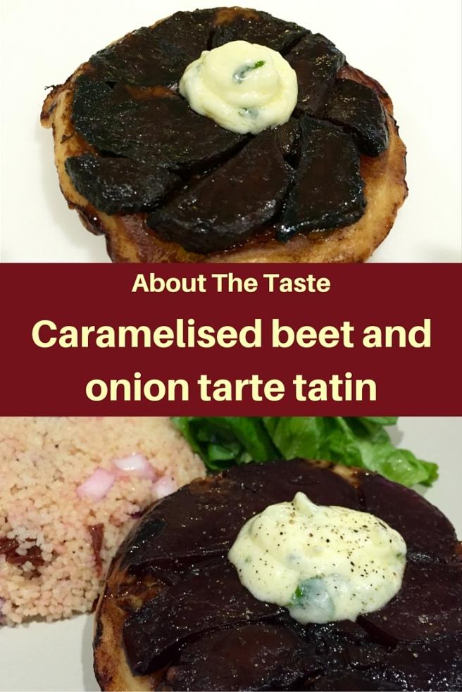 Beetroot tarte tatin (1)