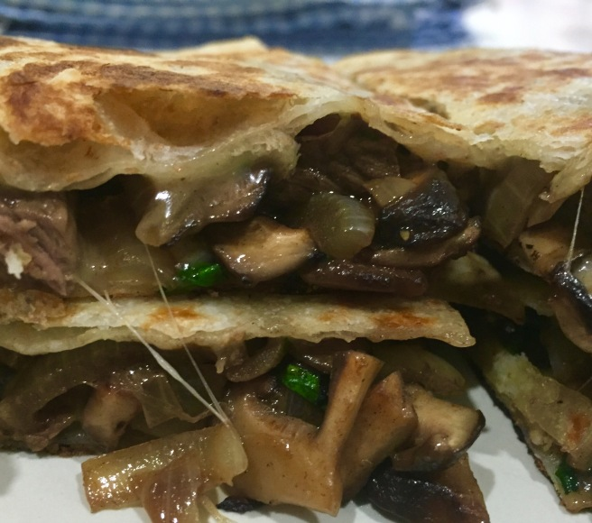 Philly cheese steak quesadillas (7)